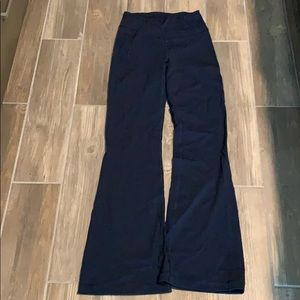 Lululemon Groove Pant Flare True Navy Size 6